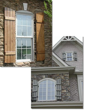 Board and Batten Shutters Custom Board and Batten Window Shutters ...