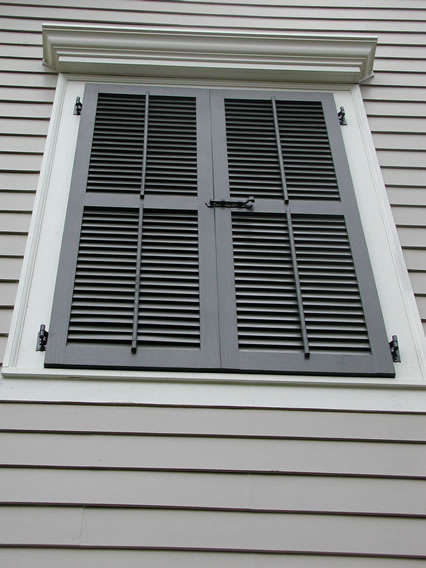 Exterior Shutters | Shutter Images from Sunbelt Shutters