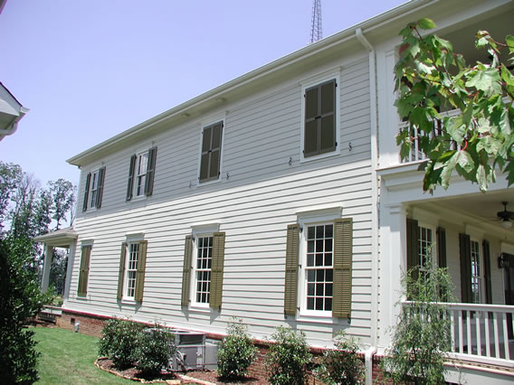 Charleston Louvered Shutters   False Windows   Shutter Hardware
