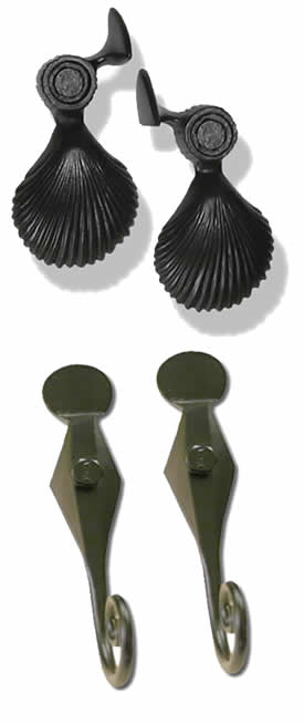 Shutter Tie Backs and Shutter Dogs