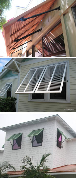 Bahama Shutters Custom Bahama Window Shutters Information