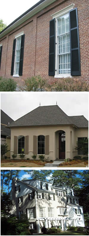 Louvered Shutters Custom Louvered Window Shutters Information